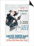 World War I: U.S. Navy Poster by Howard Chandler Christy