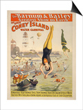 Coney Island Carnival, 1898 Poster
