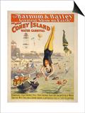 Coney Island Carnival, 1898 Poster