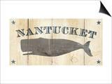 Nantucket Whale Poster autor Avery Tillmon