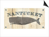 Nantucket Whale Poster von Avery Tillmon