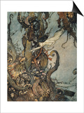 Andersen: Little Mermaid Posters by Edmund Dulac