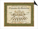 French Wine Label III Posters by Daphne Brissonnet