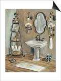 French Bath I Posters by Silvia Vassileva