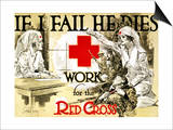Red Cross Poster, C1918 Poster by Arthur McCoy