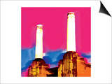 Battersea Power Station, London Art by  Tosh