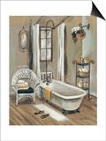 French Bath II Prints by Silvia Vassileva