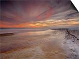 Grayton Beach at Sunset Near Destin Prints by Patrick Smith