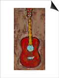 Six Strings VI Posters by Deann Hebert