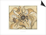 Tone on Tone Petals IV Prints by Slocum Nancy