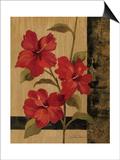 Hibiscus Branch II Prints by Silvia Vassileva