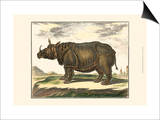 Diderot Rhino Poster by Denis Diderot
