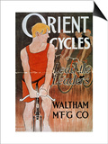 Orient Cycles Ad, c1895 Posters by Edward Penfield