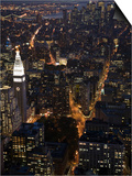 New York City at Night Prints by Felipe Rodriguez