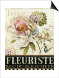 Marche de Fleurs III Print by Lisa Audit