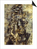 Braque: Man with a Guitar Poster by Georges Braque