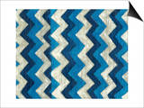 Silk Road Ikat IV Prints by Chariklia Zarris