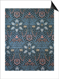 Isaphan Furnishing Fabric, Woven Wool, England, Late 19th Century Posters by William Morris