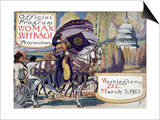 Suffragette Parade, 1913 Posters