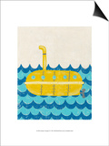 Truman's Voyage IV Prints by Chariklia Zarris