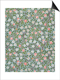 Clover Wallpaper, Paper, England, Late 19th Century Prints by William Morris