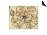 Tone on Tone Petals VI Prints by Slocum Nancy