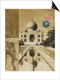 Voyage to India Poster by Hugo Wild
