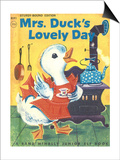 Mrs. Duck's Lovely Day Poster