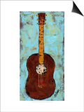 Six Strings IV Posters by Deann Hebert