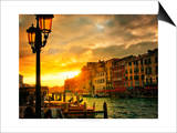 Venice in Light IV Posters by Danny Head
