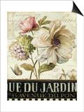 Marche de Fleurs II Prints by Lisa Audit