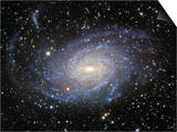 Ngc 6744 Spiral Galaxy in Pavo Poster by Robert Gendler