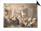 The Hunt Supper, England, 18th-19th Century Art by Thomas Rowlandson