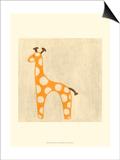 Best Friends - Giraffe Posters by Chariklia Zarris