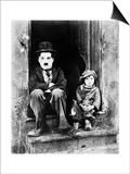 Chaplin: The Kid, 1921 Print by Charlie Chaplin