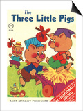 The Three Little Pigs Posters