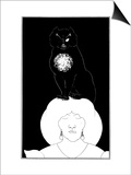 Poe: The Black Cat, 1894 Prints by Aubrey Beardsley