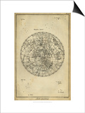 Antique Astronomy Chart II Prints by Daniel Diderot