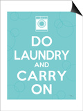 Laundry On I Posters by Pela Studio