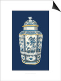 Asian Urn in Blue and White II Poster par  Vision Studio