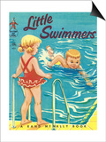 Little Swimmer Posters