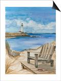Lighthouse View I Reprodukcje autor Jay Throckmorton
