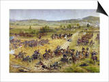 Civil War: Gettysburg Prints by Paul Philippoteaux