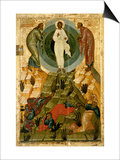 The Transfiguration of Our Lord, Russian Icon from the Holy Theotokos Dormition Church Prints