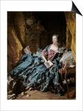 Madame De Pompadour Posters by Francois Boucher