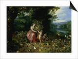 Allegory of Abundance Print by Jan Brueghel the Younger