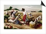 Benton: Field Workers, 1945 Poster by Thomas Hart Benton