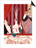 The Loge, France, Early 20th Century Posters by Georges Barbier