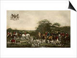 Sir Richard Sutton and the Quorn Hounds Art by Sir Francis Grant