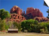 Cathedral Rocks, Sedona, Arizona Prints by Adam Jones